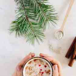 Warm Up with a Spicy Chai Latte + a Superfood Medicinal Milkshake