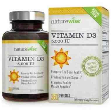 NatureWise Vitamin D 5,000 IU