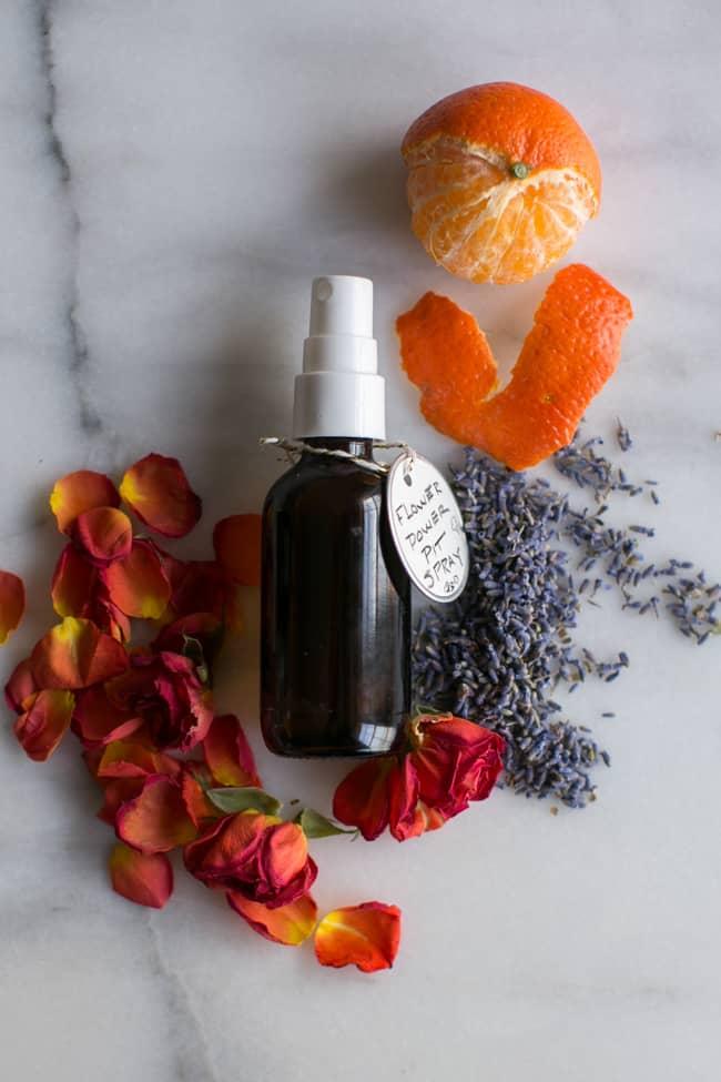 Flower Power DIY Deodorant Spray