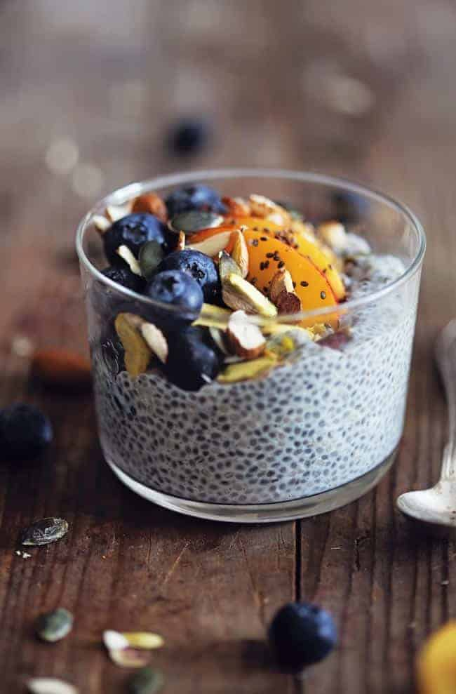 Busy Girl Breakfasts That Will Actually Keep You Full Until Lunch - Chia Pudding