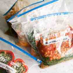 8 Freezer Bag Meals for the Slow Cooker