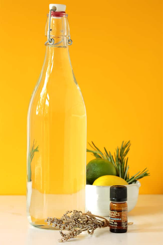 DIY Infused Vinegar Fabric Softener