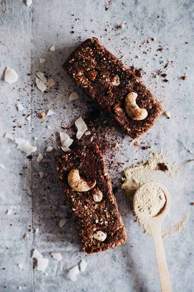 Chocolate Homemade Energy Bar Recipe