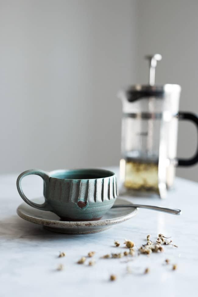 Stress-Reducing Chamomile Tea
