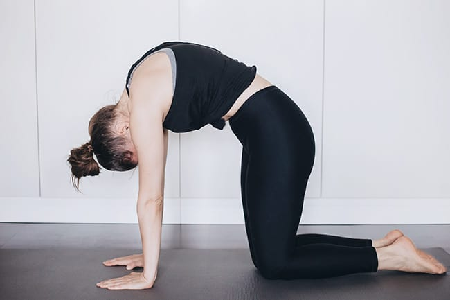 5 Yoga Moves to Ease PMS Symptoms