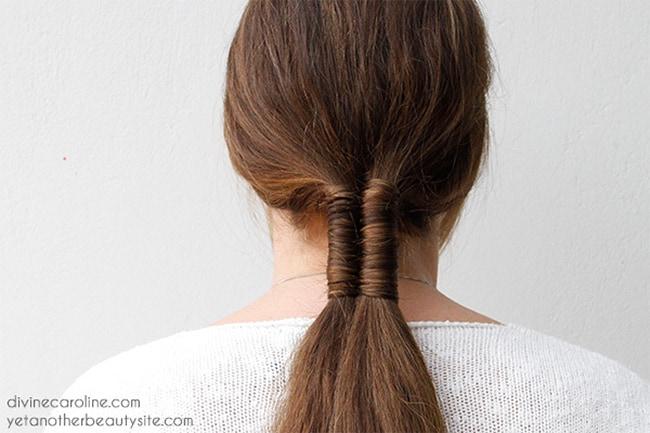 Infinity braid by Divine Caroline   10 No Heat Hairstyles