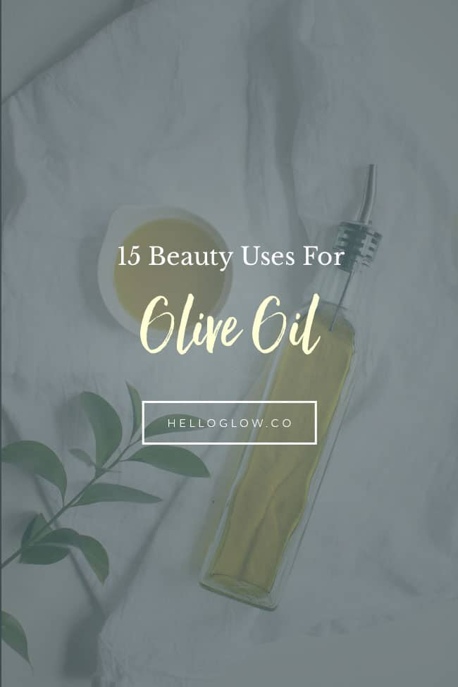 15 beauty uses for olive oil | Hello Glow