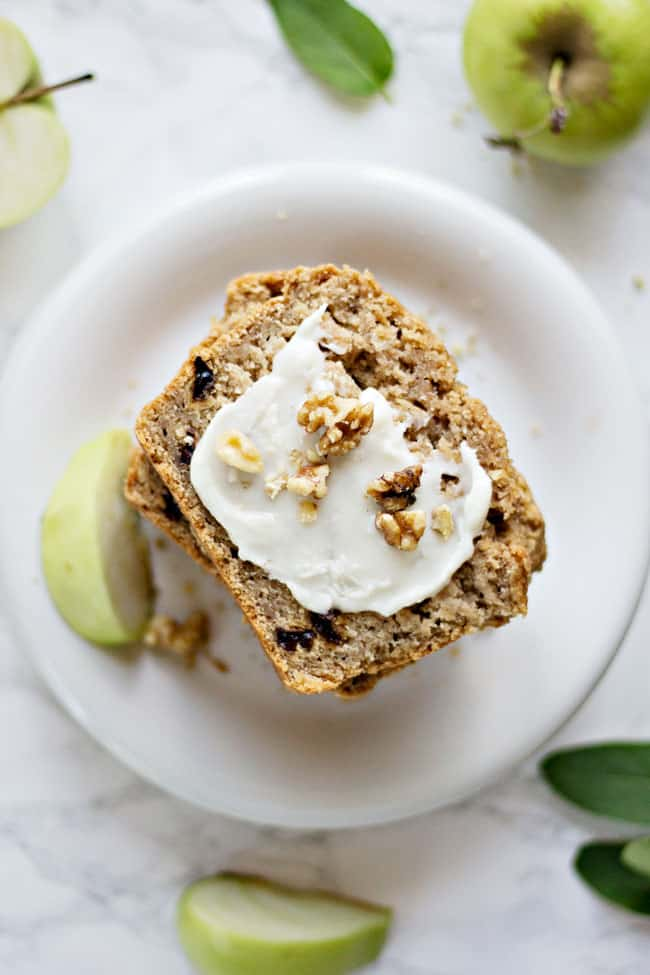 Vegan Spiced Apple Bread