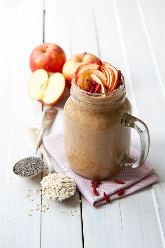 Apple Oat Smoothie by Very Breakfast