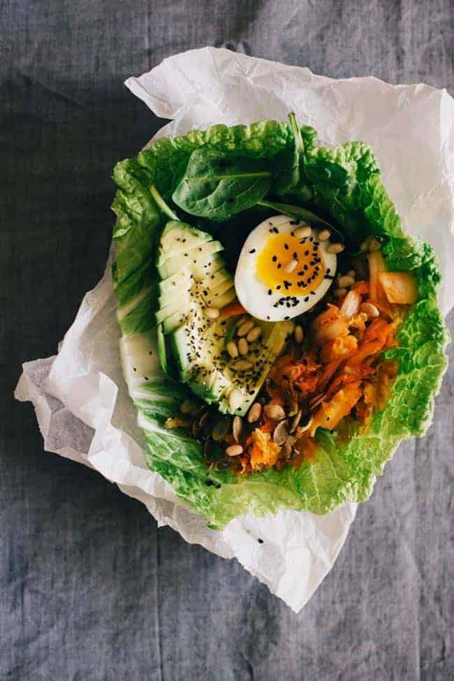 Kimchi Lunch Wrap by Hello Glow