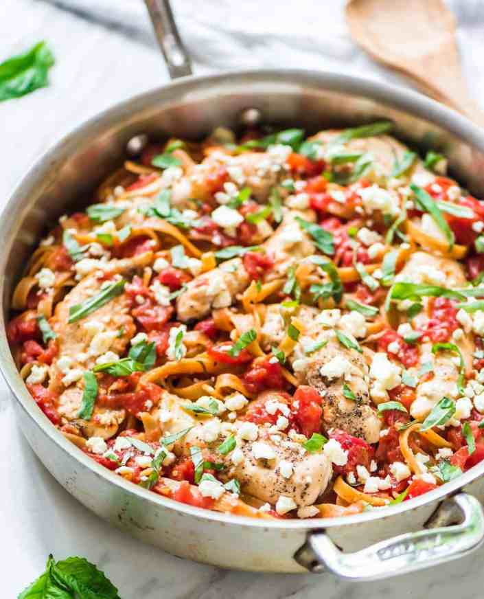 Chicken Feta Pasta by Well Plated