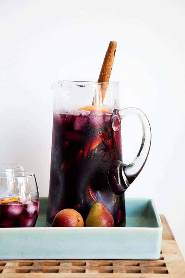 Fall sangria recipe - Hello Glow