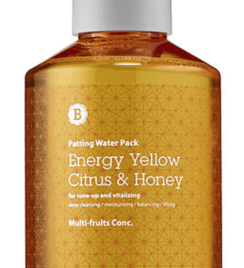 Blithe Energy Yellow Citrus & Honey Splash Mask