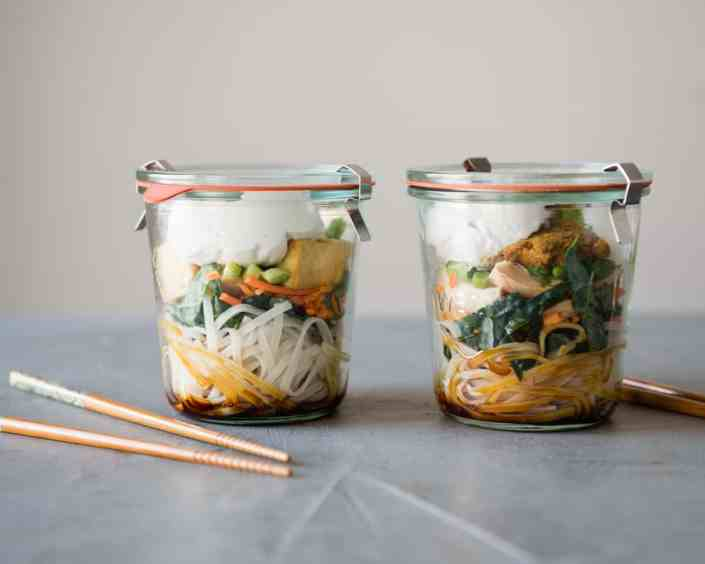Lunch in a Jar: Thai Curry Noodle Soup