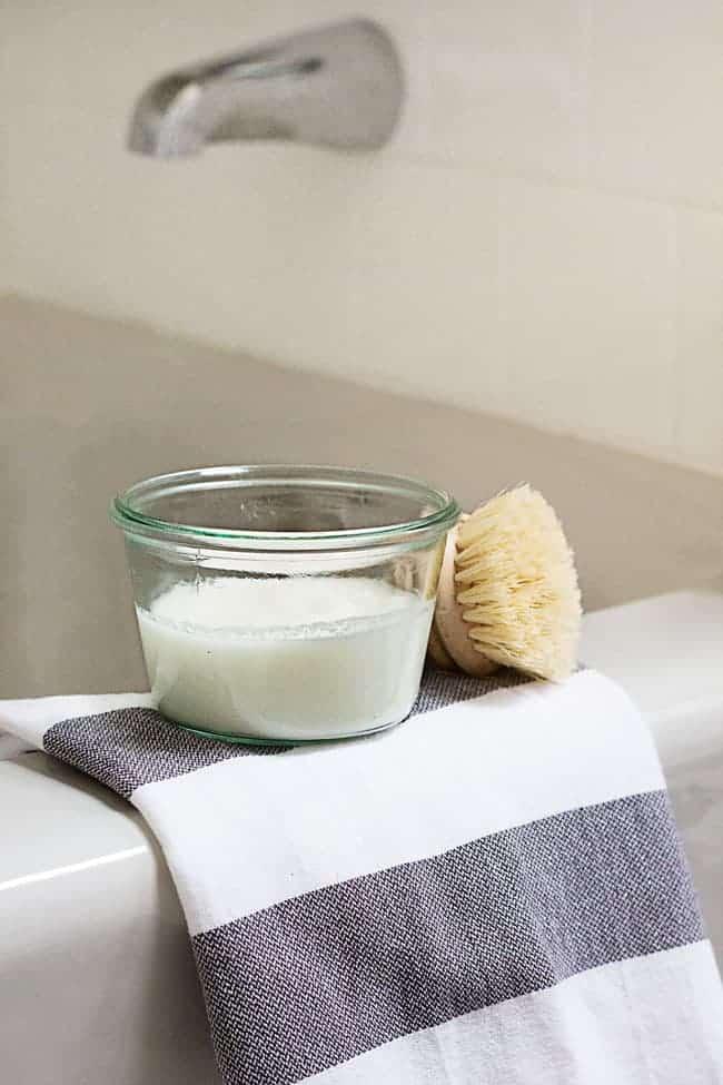 Say Good Bye To Soap Scum With This DIY Bathtub Scrub