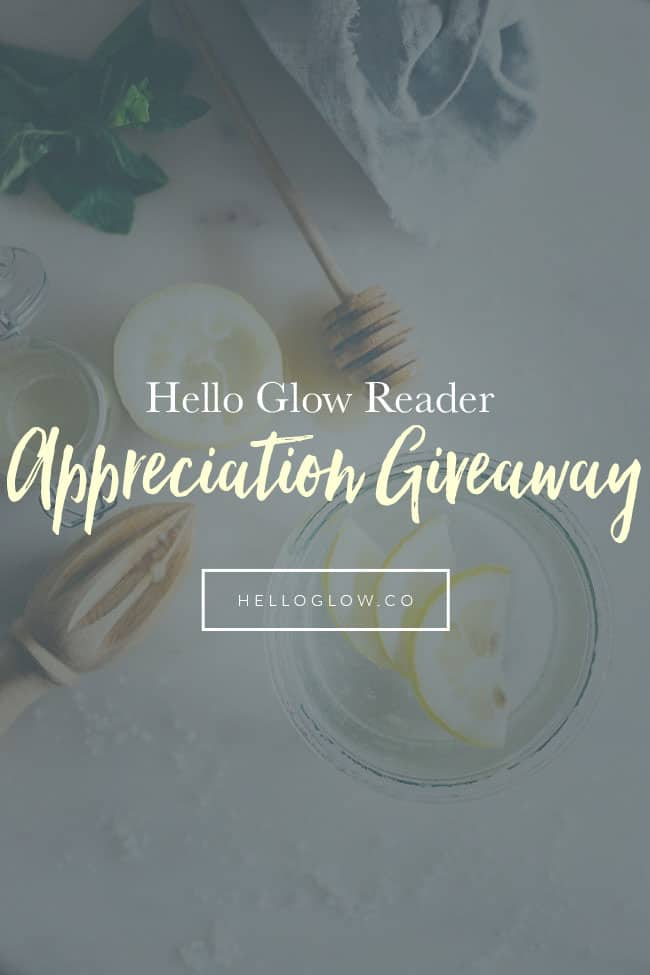 Hello Glow Reader Appreciation Giveaway