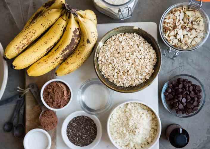 Almond Chocolate Chunk Coconut Breakfast Cookies