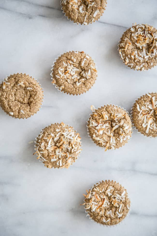 Gluten-Free Morning Glory Blender Muffins