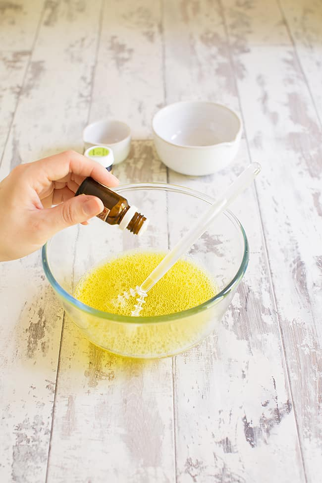 jelly soaps dissolving gelatin
