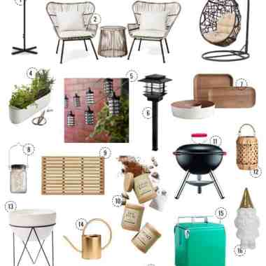20 Picks To Spruce Up Your Outdoor Space