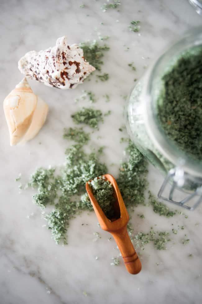 Detoxifying Clay + Sea Salt Mermaid Bath