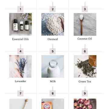 12 DIY Bath Ingredients
