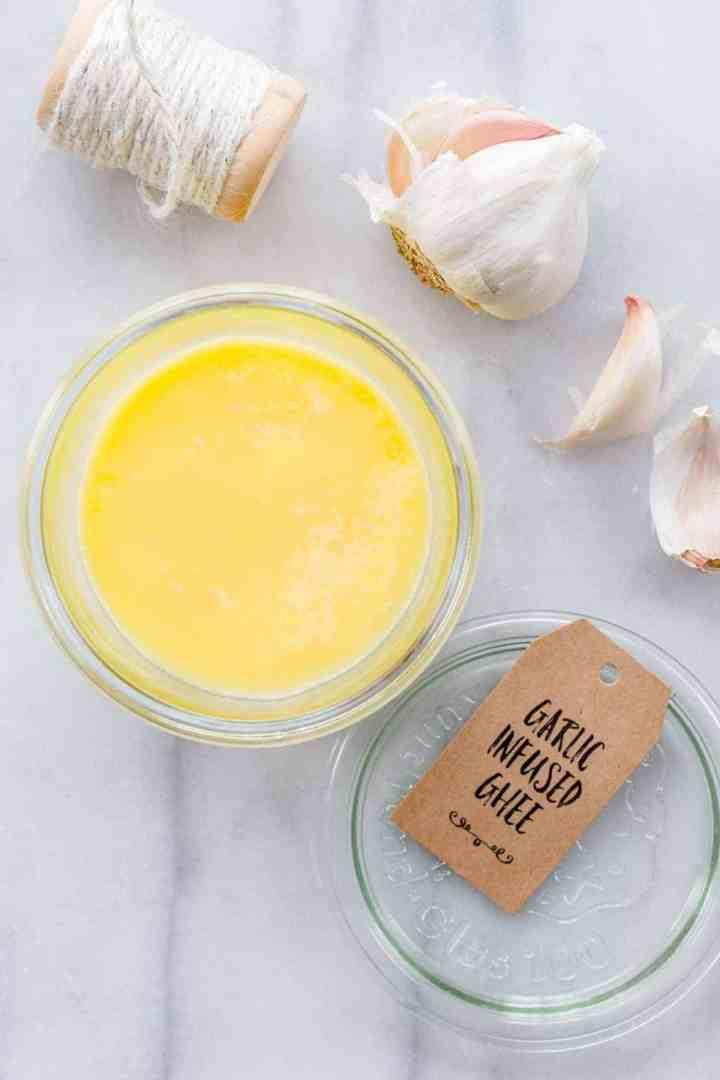 3 Ways to Make Flavor-Infused Ghee: Garlic, Cinnamon Vanilla, and Rosemary Thyme