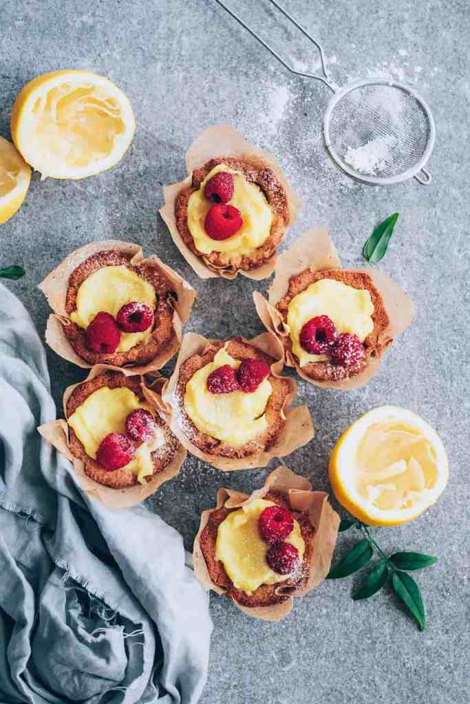 We're Swooning Over These Lemon Curd Tartlets from Easy Keto Desserts