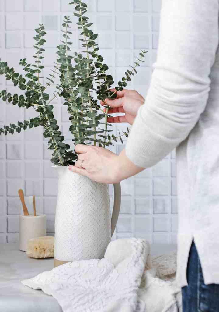 Sinus-Clearing Eucalyptus Shower