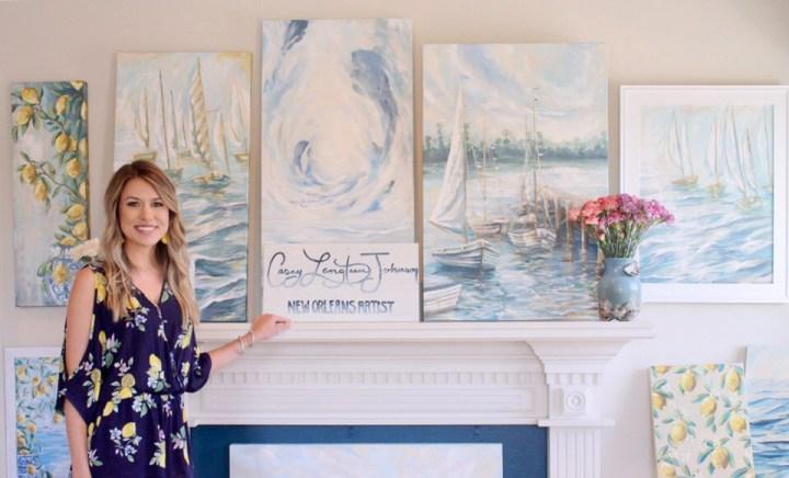 Casey Langteau Johnson- New Orleans Artist