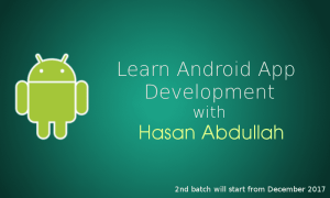 Android App development course in Dhaka