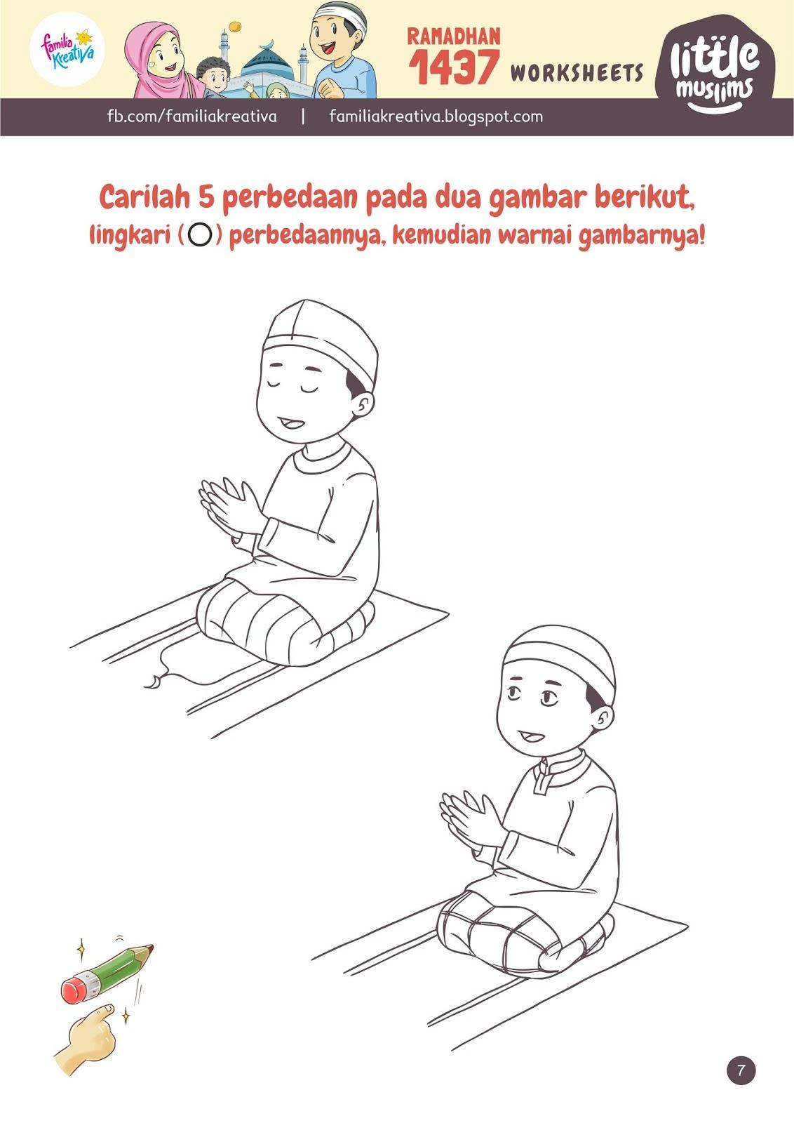 Gambar Kartun Anak Muslim Buang Sampah Pada Tempatnya