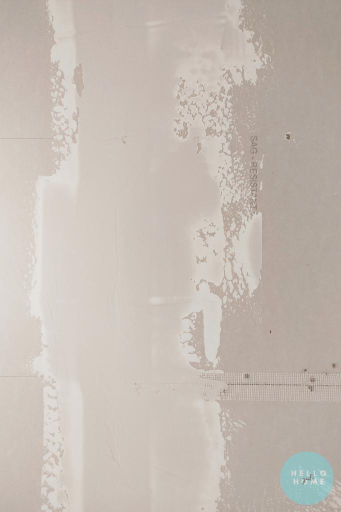 drywall seams
