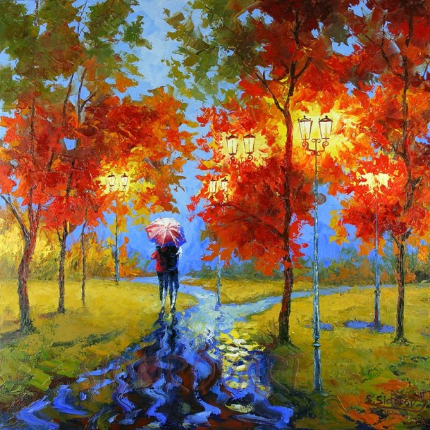 fall colors Stanislov Sidorov art roomsrevamped.com