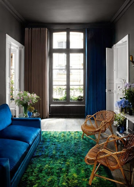 Luxury apartment in Paris www.roomsrevamped.com