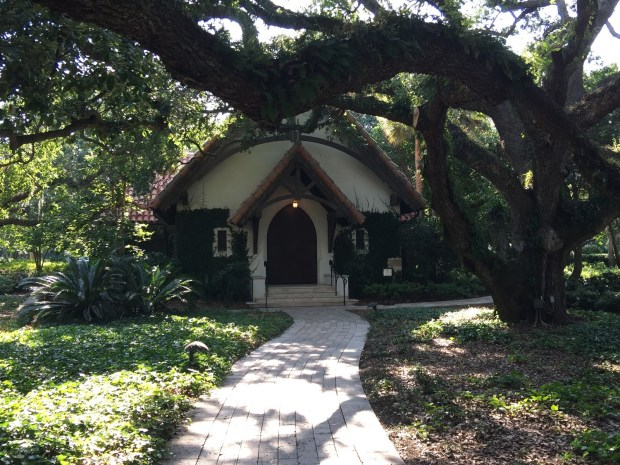 The little chapel at the Cloister