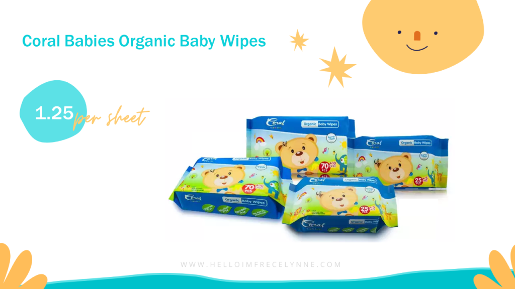 Coral Babies Organic Baby Wipes