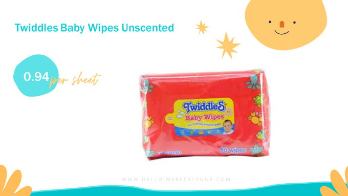 Twiddles Baby Wipes Unscented