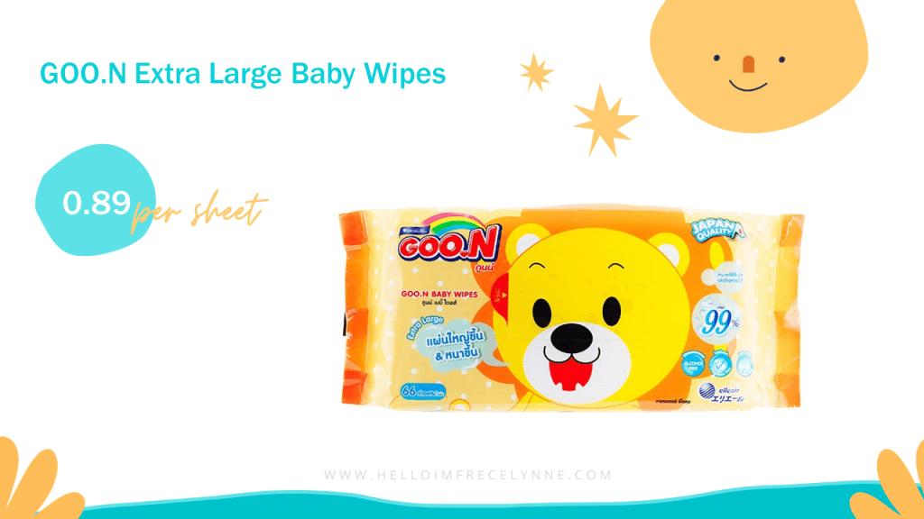 GOO.N Extra Large Baby Wipes