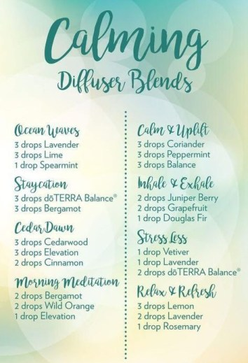 calming essential oil blends