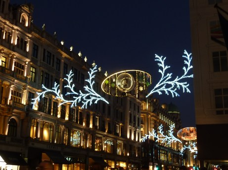 Regent Street decorations