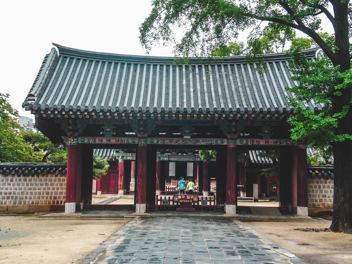 Hall principal de Gyeonggijeon