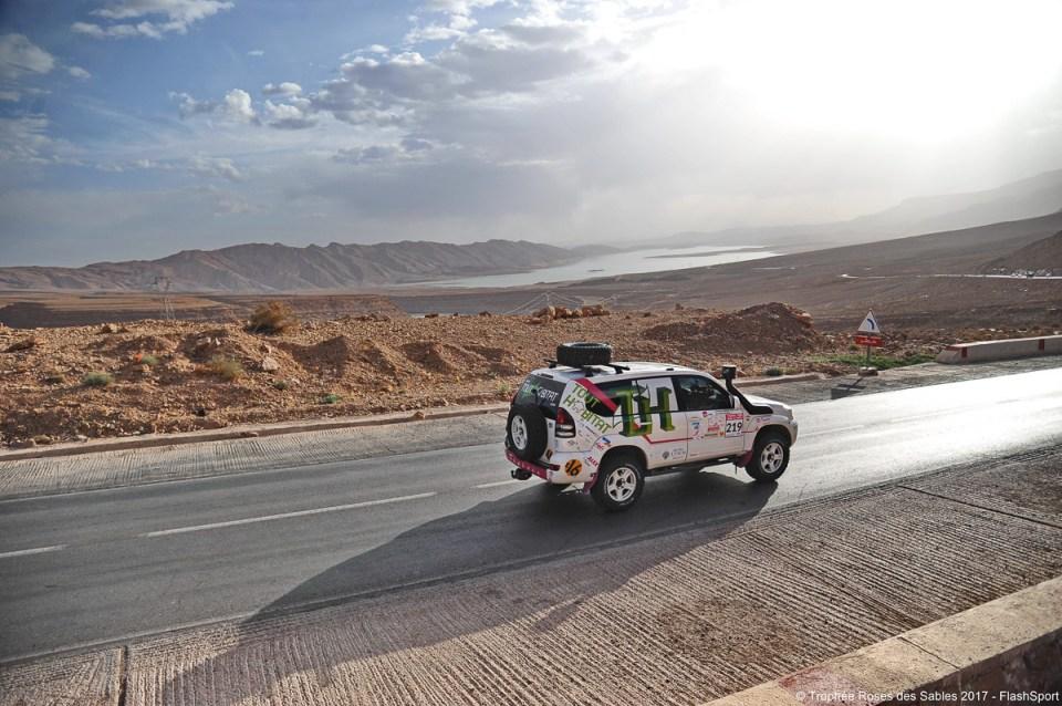 4X4 sur les routes marocaines