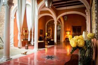 hall d'arrivée hacienda Merida VIP