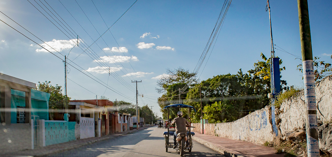 velo taxi au Mexique