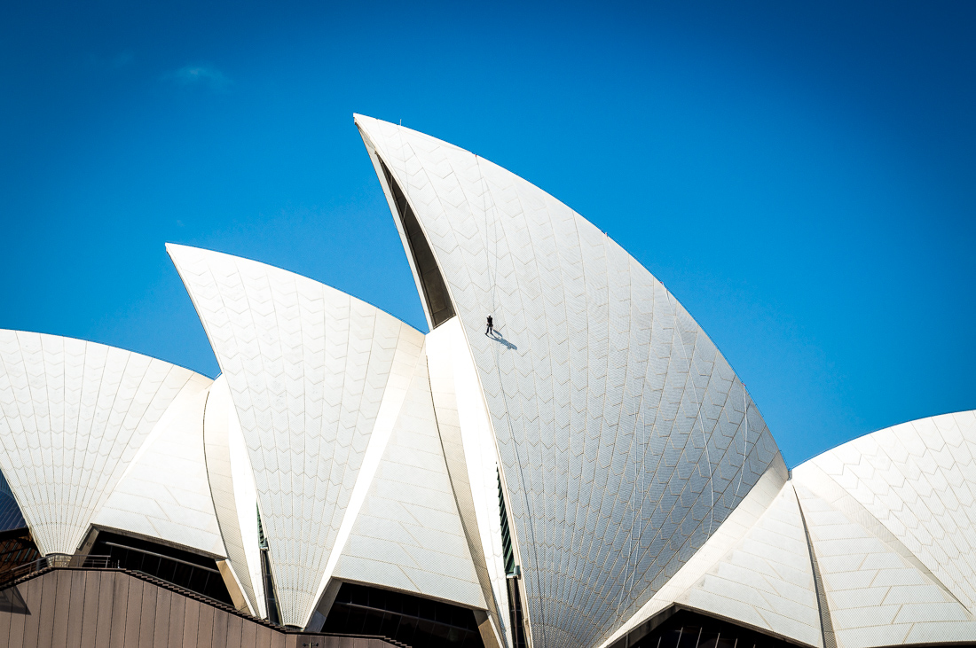 toit de l'opéra de Sydney