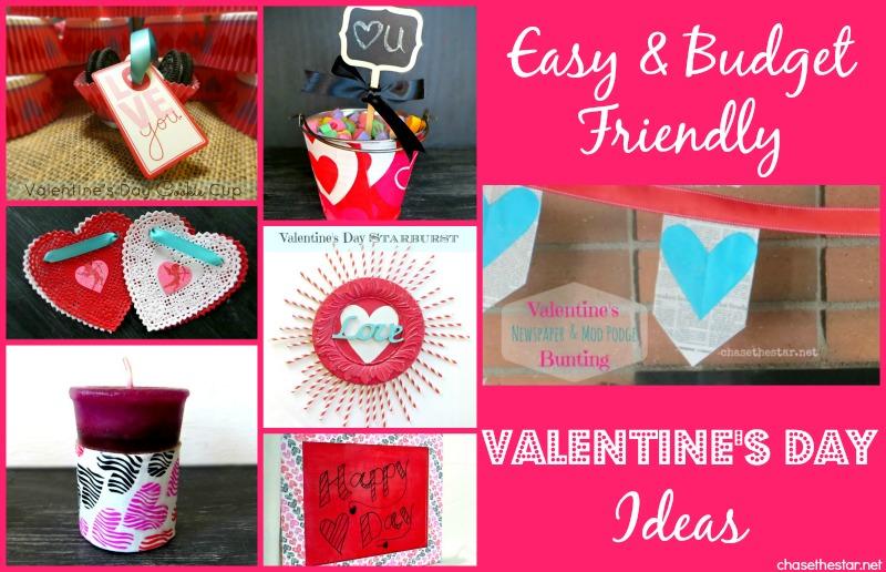 Budget Valentines Day Ideas