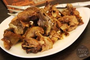 Crispchon Tossed in Chili Garlic