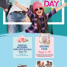 Grandparents Day at SM Malls