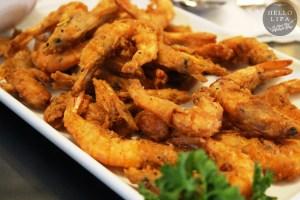 Crispy Shrimp with Special Vinegar